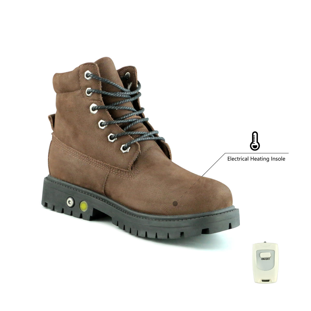 c8487006932 Men s Rechargeable Battery Heated Boots